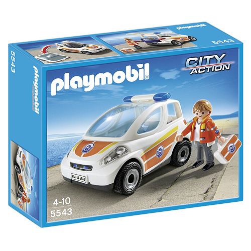 Vozidlo lékaře Playmobil