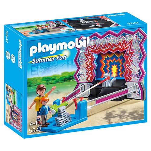 Střelnice s plechovkami Playmobil