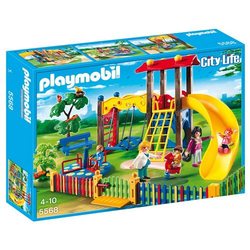 Dětské hřiště Playmobil 5 panáčků na hřišti, 116 dílků