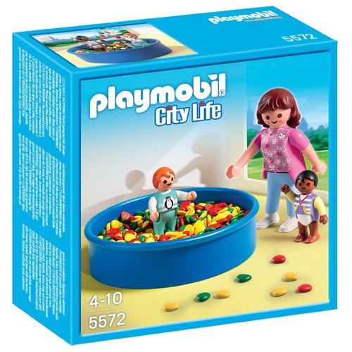 Koupání v míčkách Playmobil Mateřská škola