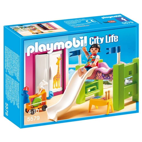 Dětský pokoj Playmobil panáček v pokojíčku s doplňky, 28 dílků