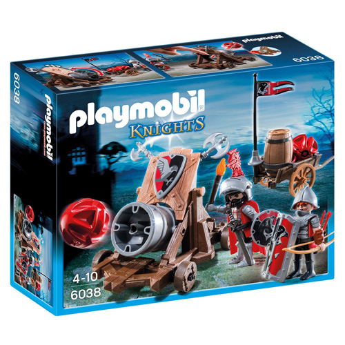 Útočný kanón Sokolích rytířů Playmobil Rytíři