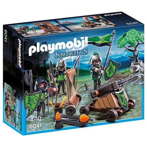 Vlčí rytíři s katapultem Playmobil