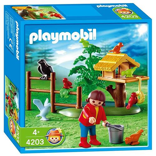 Krmení ptáčků Playmobil