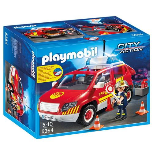 Auto velitele hasičů Playmobil Hasiči