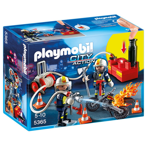 Hasičské čerpadlo Playmobil Hasiči
