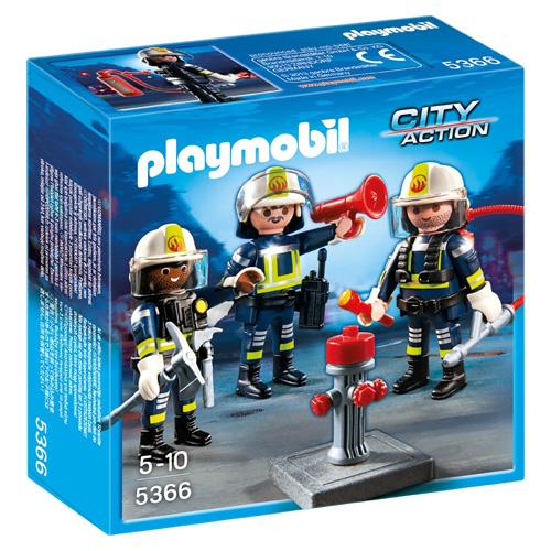 Tým hasičů Playmobil Hasiči