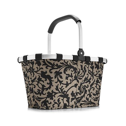 Nákupní košík Reisenthel Béžový s barokními ornamenty | carrybag baroque taupe