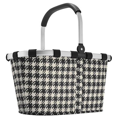 Nákupní košík Reisenthel Černo-bílý s motivem padesátek | carrybag