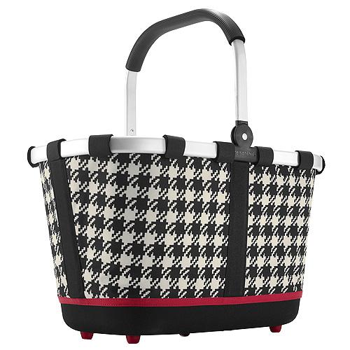 Nákupní košík Reisenthel Černo-bílý s motivem padesátek | carrybag 2