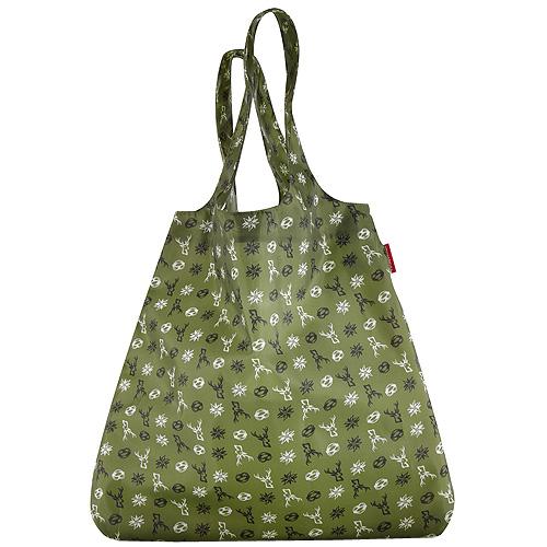 Nákupní taška Reisenthel Zelená s bavorským motivem   mini maxi shopper bavaria