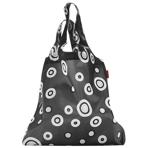 Nákupní taška Reisenthel s motivem bublin | mini maxi shopper bubbles anthracite