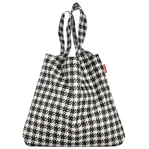 Nákupní taška Reisenthel Černo-bílá s motivem padesátek | mini maxi shopper