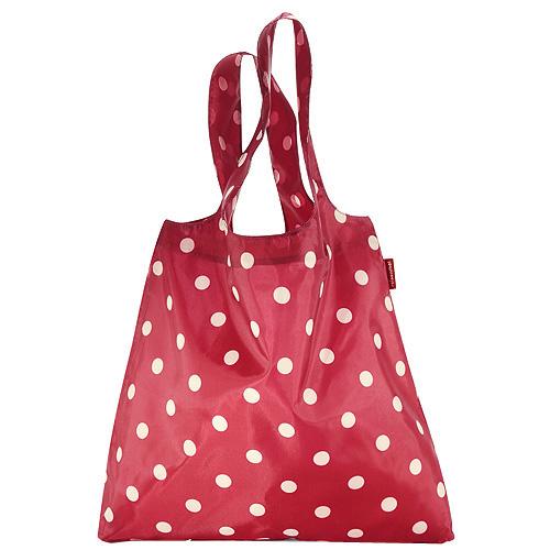 Nákupní taška Reisenthel Červená s puntíky, mini maxi shopper ruby dots