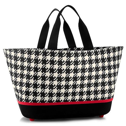Nákupní košík Reisenthel Černo-bílý s motivem padesátek | shoppingbasket fifties