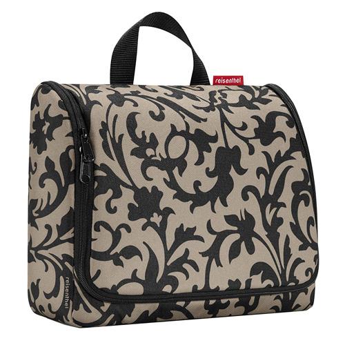 Cestovní toaletní taška Reisenthel Béžová s barokními ornamenty   toiletbag XL