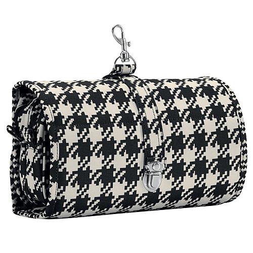 Kosmetická taška Reisenthel Černo-bílá s motivem padesátek, wrapcosmetic