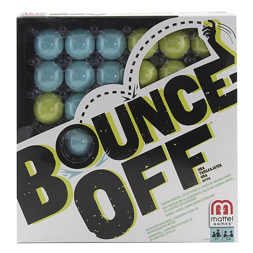 Stolní hra Mattel Bounce Off pro 2 až 4 hráče