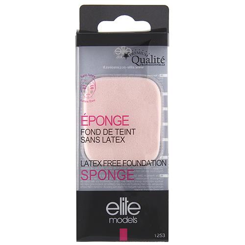 Houbičky na make-up Elite Models čtvercové, 2ks, 5cm