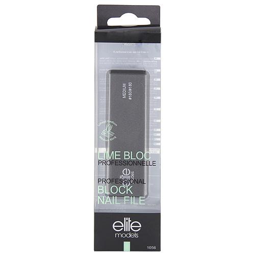 Pilník na nehty Elite Models 4-povrchový, délka 95 mm