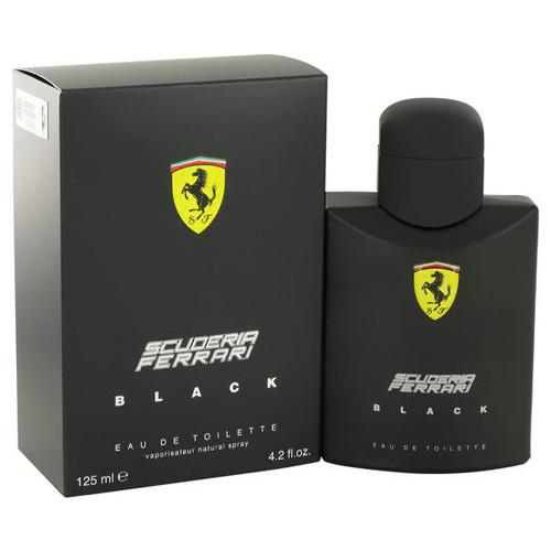 Toaletní voda Ferrari Scuderia Black, 125 ml