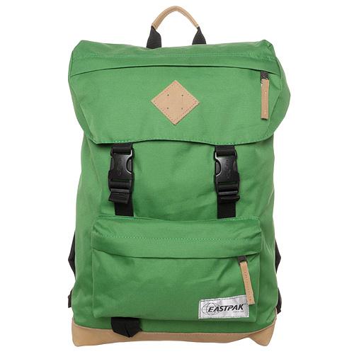 Cestovní batoh Eastpak Zelený s koženou základnou 41b62f85fc