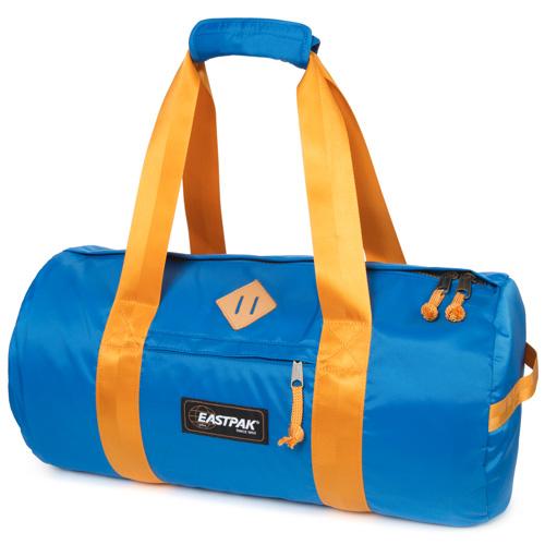 Cestovní taška Eastpak Modrá se žlutými popruhy