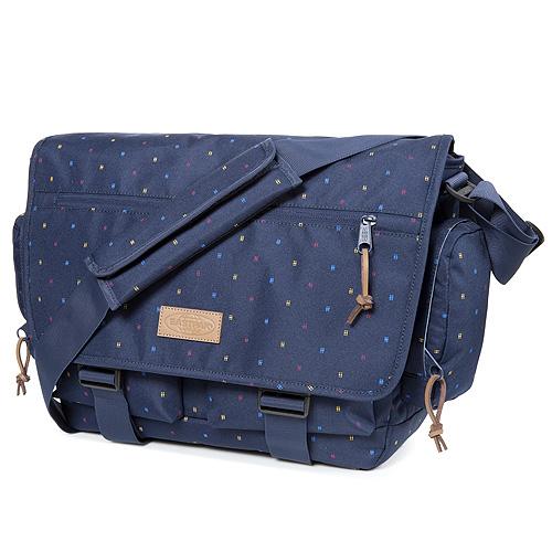 Taška přes rameno Eastpak Tmavě modrá, barevné tečky