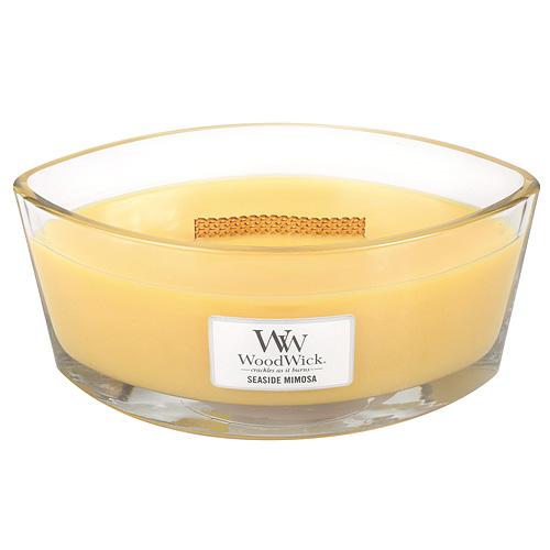 Svíčka dekorativní váza WoodWick Přímořský koktejl, 453.6 g