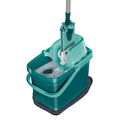 Úklidová sada Leifheit pro mytí podlah bez kontaktu rukou a špinavé vody, vhodný pr