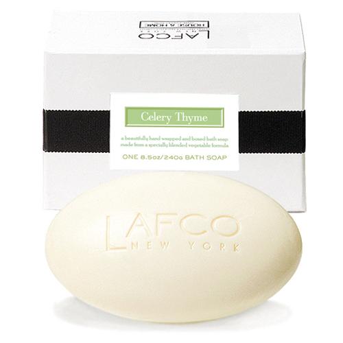 Mýdlo do koupele Lafco New York Celer, tymián a bazalka, 240 g