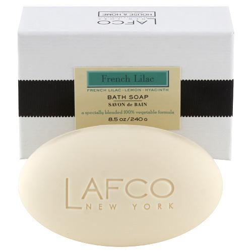 Mýdlo do koupele Lafco New York Francouzský šeřík, 240 g