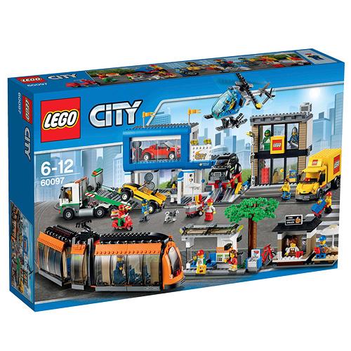 Stavebnice LEGO City Náměstí ve městě, 1683 dílků