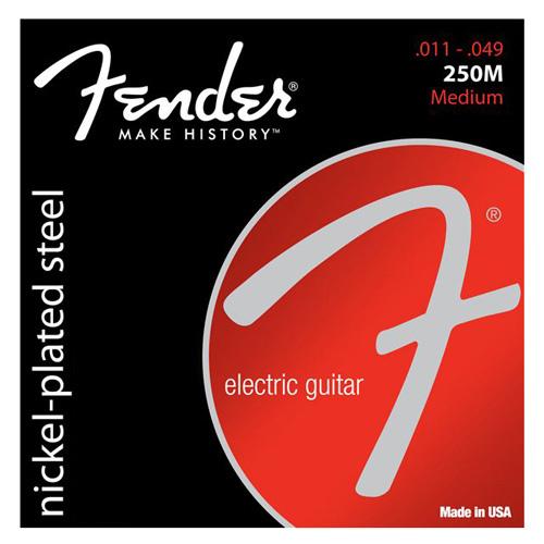"""Struny pro elektrickou kytaru Fender Tvrdost 011""""/ 049"""""""