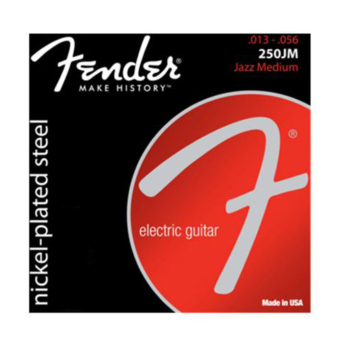 """Struny pro elektrickou kytaru Fender Tvrdost 013""""/ 056"""""""