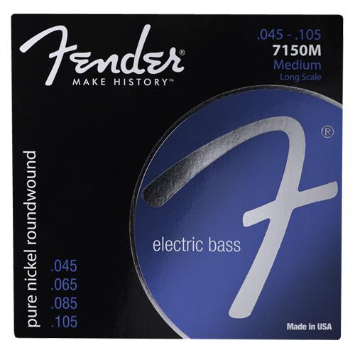 """Struny pro baskytaru Fender Tvrdost 045""""/105"""""""