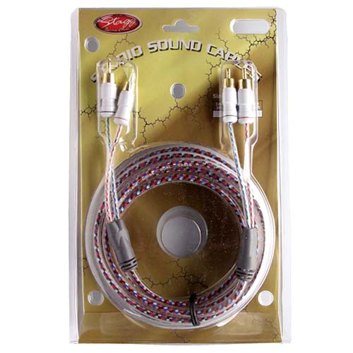Dvojitý kabel Stagg Délka 3,5 m