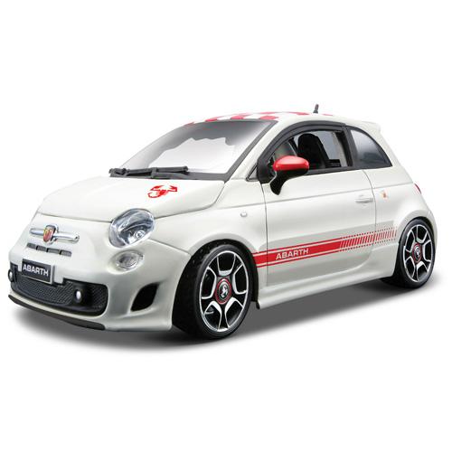 Stavebnice Fiat Bburago Abarath 500 (2008), 1:24