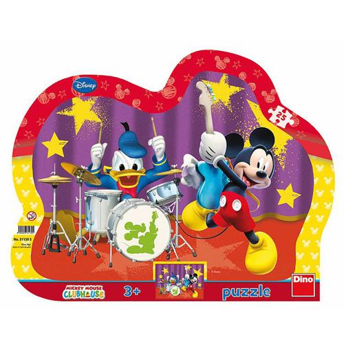 Puzzle Disney Dino Mickeyho kapela, 25 dílků