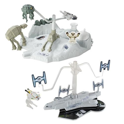 Hrací set Hot Wheels Mattel Star Wars™, Hoth™ Echo Base Battle