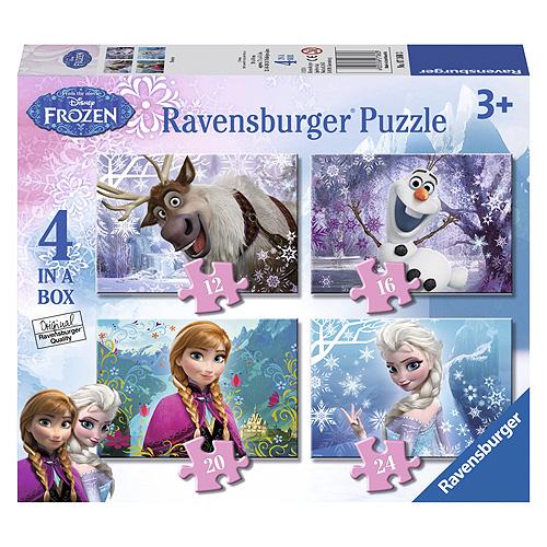 Puzzle Ravensburger Ledové království 4 v 1
