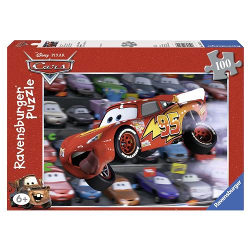 Puzzle Ravensburger Auta McQueen, 100 dílků