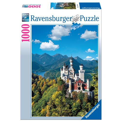 Puzzle Ravensburger Zámek Neuschwanstein, 1000 dílků