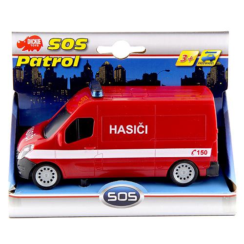 S.O.S. auto Dickie Hasiči - 14 cm
