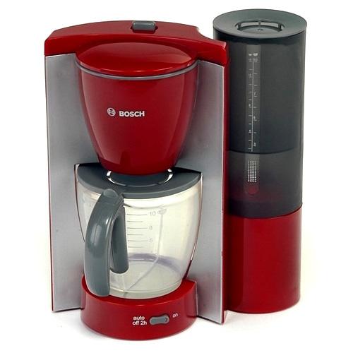 Kávovar Klein Bosch, červeno/šedý