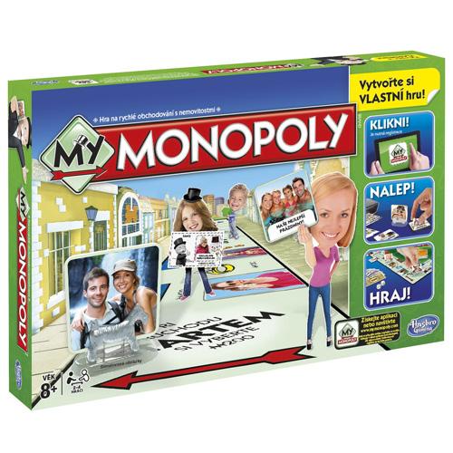 Stolní hra Hasbro Moje Monopoly