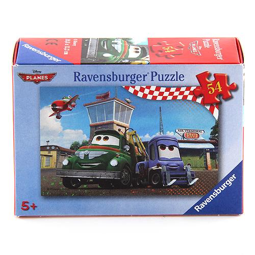 Puzzle Ravensburger Letadla, minipuzzle - 54 dílků
