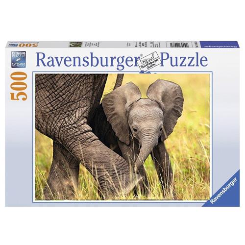 Puzzle Ravensburger / Slůně 500d