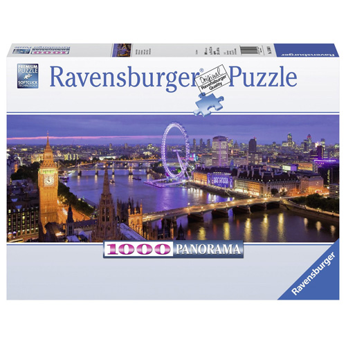 Puzzle Ravensburger Noční Londýn, 1000 dílků