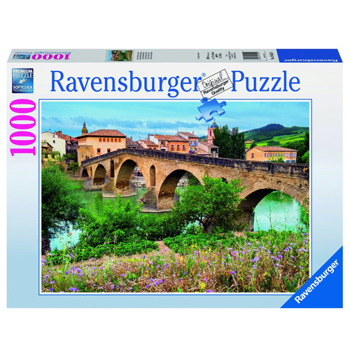 Puzzle Ravensburger Puente la Reina, Španělsko, 1000 dílků